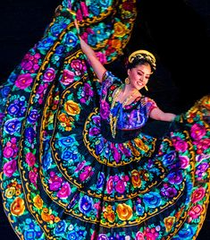 El folclore mexicano Ballet Folklorico - performed at the Palace of the Fine Arts in Mexico City.