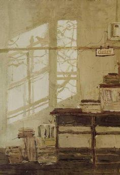 Love the stacks of papers and bird shadows. Cannot locate the artist name. Painting Inspiration, Art Inspo, Art Sketchbook, Artist Painting, Lovers Art, Watercolor Art, Art Photography, Illustration Art, Fine Art
