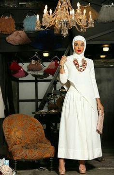 Mrmr_4 Hajib Fashion, Modest Fashion, Fashion Dresses, High Fashion, Muslim Women Fashion, Islamic Fashion, Modest Dresses, Simple Dresses, Hijab Abaya