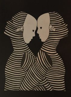 Body black&white, soul