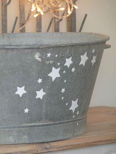 bucket of stars.