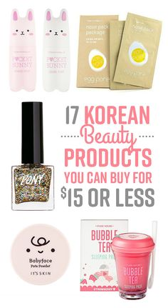 17 Korean Beauty Products You Can Buy For $15 Or Less