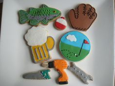 father's day (late...) by sugarlily cookie, via Flickr