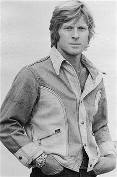 Terry O'Neill - Robert Redford (Jeans Shirt) | 1stdibs.com