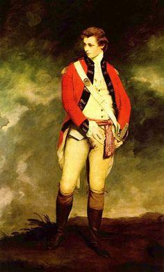 Portrait of Colonel John Hayes St. Leger, by Sir Joshua Reynolds, c1770, Waddesdon Manor