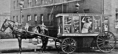 Ice Cream wagon on Jerome ave, the Bronx, in 1929. http://graff-art-shop.myshopify.com/collections/limited-edition-snapbacks