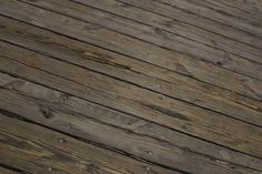Because it faces the rain and sun, the surface of a wood deck usually deteriorates before the foundation. Rain makes the wood swell and warp, and the sun dries it out and makes it crack. As long as ...