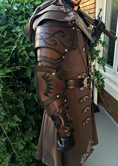 WOW! That's SOME leather armor!! From: Элина Корф