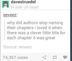 "Percy Jackson/Heroes of Olympus, anyone?<<<<< Yes I loved Rick's chapter titles they were hilarious<<Oh yeah ""Jason"" so clever! Jk Percy Jackson titles are amazing I Love Books, Books To Read, My Books, Book Memes, Book Quotes, Book Of Life, The Book, Rick Riordan, Writing Tips"