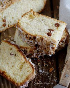 Kaszubskie ciasto drożdżowe z kruszonką i lukrem - Kashubian yeast-cake with crumble and icing