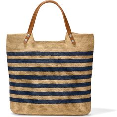 Find handmade straw and raffia handbags with artisanal accents like leather trim, braiding, applique and beading. Straw Handbags, Tote Handbags, Purses And Handbags, Leather Purses, Leather Handbags, Leather Bags, Diy Sac, Photo Bag, Crochet Tote