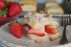 Strawberry and Chocolate Cream Napoleons