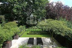 Moderne Gartengestaltung Mit Wasserbecken Stadthausvilla Mit Wasserbecken Hamburg G B Gartendesign