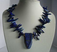 Lapislazuli - Collier Nefertari von sibea auf DaWanda.com