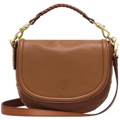 Small Effie Satchel Oak Spongy Pebbled (3.390 BRL) ❤ liked on Polyvore featuring bags, handbags, shoulder bags, purses, accessories, bolsas, brown over the shoulder bag, brown satchel crossbody, hobo purse and hobo crossbody