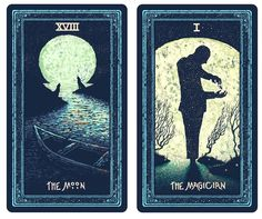 XVIII The Moon  I The Magician