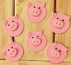 This is for 1 dozen edible pig face cupcake toppers.    These are made to order so they will need at least 3 days for making and drying time before ready for shipment.    Please let me know if you have any questions. | Shop this product here: spreesy.com/SugarLoveAndHappiness/35 | Shop all of our products at http://spreesy.com/SugarLoveAndHappiness    | Pinterest selling powered by Spreesy.com