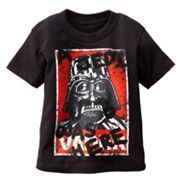 Star Wars Vader A Jedi Was Here Tee - Toddler