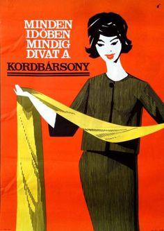Kordbarsony is always fashionable 1965