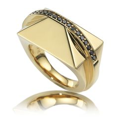 Shard Gold black diamonds www.ruifier.com £459
