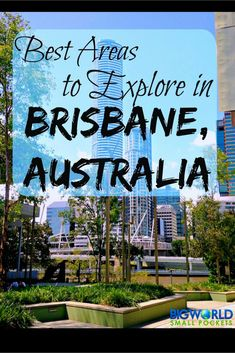 The 5 Best Areas in Brisbane, Australia My top recommendations for great places to visit in Brisbane, Queensland capital in Australia {Big World Small Pockets}: Brisbane City, Visit Australia, Queensland Australia, Western Australia, Brisbane Queensland, Australia Trip, Australia Visa, Victoria Australia, Melbourne Australia