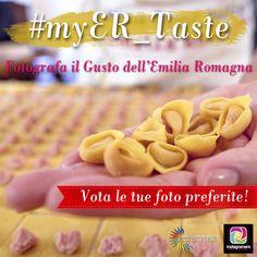 #myER_Taste: è arrivato il momento di votare!  Eleggete tra le 20 finaliste la foto che secondo voi più di tutte riassume l'amore della nostra regione per la buona tavola ;D