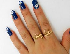 Thug Life Ring-- Adjustable Wire Ring set of 2 unusual rings--Custom ring--Name ring-- Word ring--Cool,Funny, Geeky Gift for Best Friend
