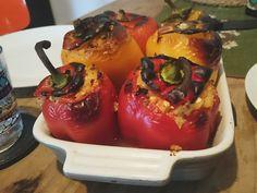 stuffed peppers // veggie