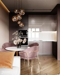 The best Luxury kitchen – Las mejores cocinas What is Decoration? Decoration could be the … Home Decor Kitchen, Interior Design Kitchen, Kitchen Ideas, Interior Modern, Modern Luxury, Küchen Design, House Design, Design Ideas, Design Inspiration