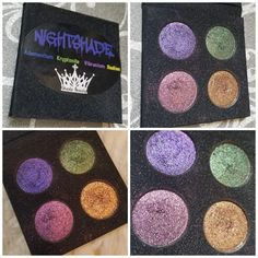 Handcrafted cosmetics, eyeshadows, glitters, highlighters, eyeshadow palettes, and more. Made in Michigan, USA. Cruelty free and vegan. Shimmer, sparkle, shine. Eyeshadow Palette, Smokey Eyeshadow, Indie Makeup, How To Apply, Sparkle, Shades, Beauty, Sunglasses, Glow