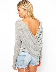 ASOS Drape #Back Jumper Get 7% cash back at http://www.studentrate.com/all/get-all-student-deals/ASOS-Student-Discount--/0