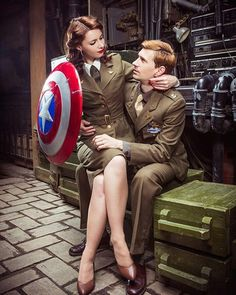 matching halloween costumes 24 Marvelous Matching Avengers Costumes For Couples and Friends - Best Female Halloween Costumes, Disney Halloween, Superhero Costumes Female, Cute Couples Costumes, Couples Cosplay, Cute Couple Halloween Costumes, Hallowen Costume, Trendy Halloween, Halloween Outfits