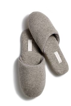 Arlotta Cashmere Classic Cashmere Slide Slipper $92 at theory.com