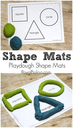 Learn shapes and fine motor skills with playdough – Royal Baloo Learn shapes and fine motor skills with playdough – Royal Baloo,STEM Projects and Crafts Free Printable Shapes Mats for playing with playdough Related. Preschool Learning Activities, Preschool Activities, Activities For 5 Year Olds, Preschool Shapes, Shape Activities For Preschoolers, Teaching Ideas, 3 Year Old Preschool, Shapes For Toddlers, Educational Activities For Preschoolers