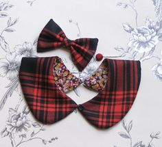 SALE Peter pan collar set by talulahblue on Etsy, £14.00