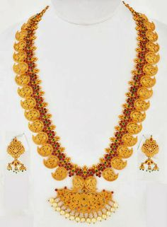 Jewellery Designs: Spinel Stone Mango Haram