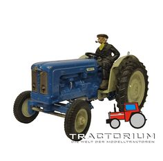 Britains 9525 Fordson Super Major New Perfomance Traktor 1/32