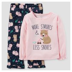 Toddler Girls' 2pc More S'Mores Pajama Set - Just One You™ Made by Carter's® Pink