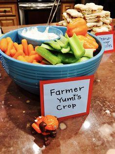 Paw Patrol Birthday. Farmer Yumi's Crop