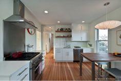 Modern-Industrial white kitchen design
