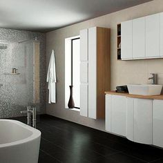Integrated handle high gloss range from B
