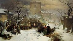 Christmas Day ~ John Ritchie 1857