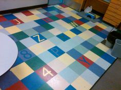 Perfect Elementary School Specialty Flooring By Continental Flooring Company.  Government And Commercial Flooring Contractors.