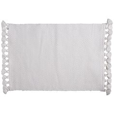 Indie Placemat 33x45cm  White