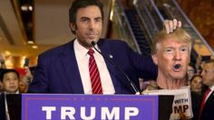 HOLLYWOOD – Sacha Baron Cohen has dispelled rumors that he is playing Donald Trump in real life as some kind of strange prank movie. Rumors that Sacha Baron Cohen is actually playing Donald Trump were scotched today by Baron Cohen himself asmany voices in the Republican Party appealed for him to stop what they wree …