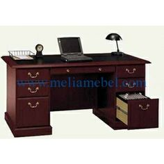 Shop a great selection of Pemberly Row Home Office Executive Wood Desk Cherry 3 File Drawers. Find new offer and Similar products for Pemberly Row Home Office Executive Wood Desk Cherry 3 File Drawers. Home Office Computer Desk, Home Office Furniture, Computer Desks, Business Furniture, Bedroom Furniture, Cherry Desk, Pedestal Desk, Work Station Desk, Best Desk