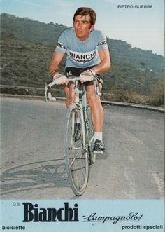 Pietro Guerra (1943). G.S. Bianchi Campagnolo 1974
