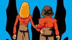 3. Le ragazzine stanno perdendo il controllo. La società le teme. La fine è azzurra. (di Ratigher, autoprodotto)