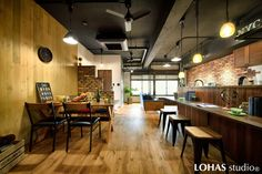 Brooklyn Style, Cafe Design, Interior, Table, Furniture, Home Decor, Cafeteria Design, Decoration Home, Indoor