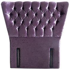 Buy Airsprung Ellaria Single Headboard - Purple at Argos.co.uk - Your Online Shop for Headboards, Bedroom furniture, Home and garden. Purple Headboard, Single Headboards, Argos, Bedroom Furniture, Home And Garden, Shop, Ideas, Bed Furniture, Thoughts